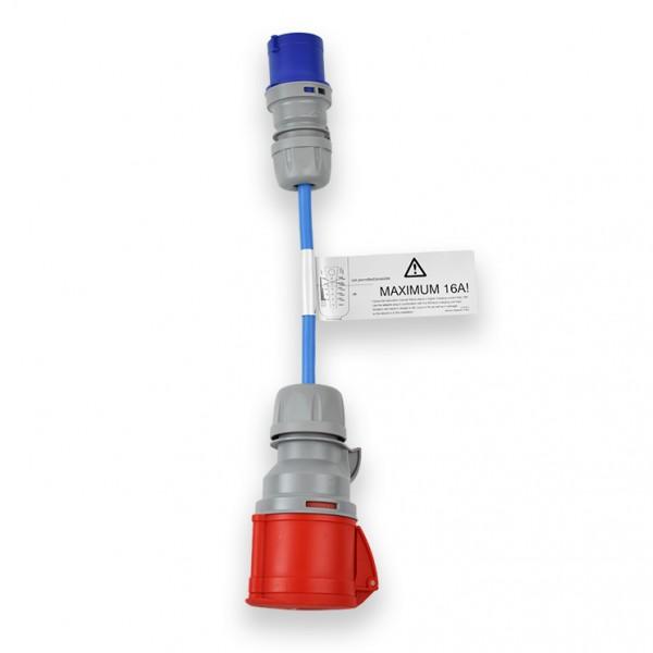 NRGkick Adapter - CEE 32A auf CEE blau