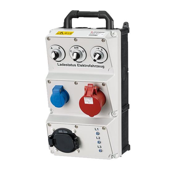 MENNEKES - Prüfbox für Ladesysteme im AMAXX Gehäuse